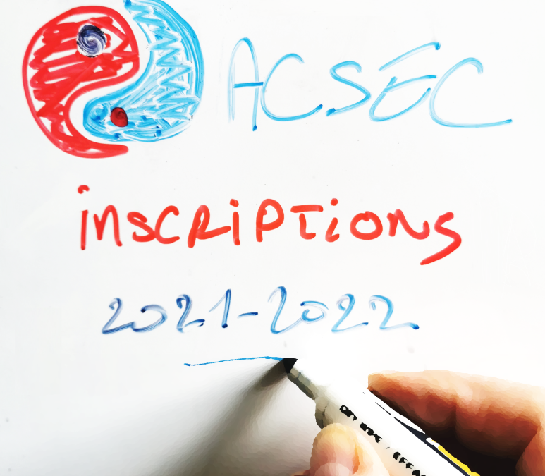 Inscriptions nouvelle saison